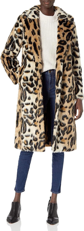 RACHEL Rachel Roy Women's Faux Fur Long Coat