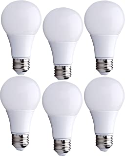 Bioluz LED 40 Watt LED Light Bulbs, 40W A19 Bulbs Use only 6 Watts,