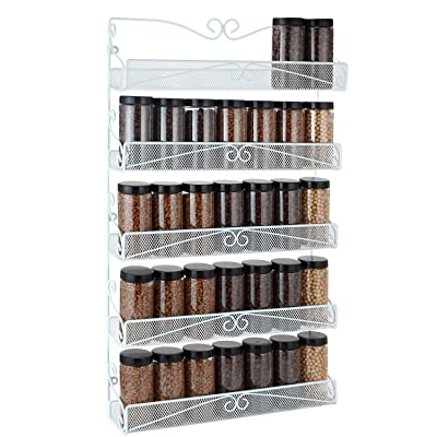 Spice Rack,Hanging Wall Mounted Spice Rack Orga...
