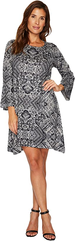 Nally & Millie - Ikat Print Dress