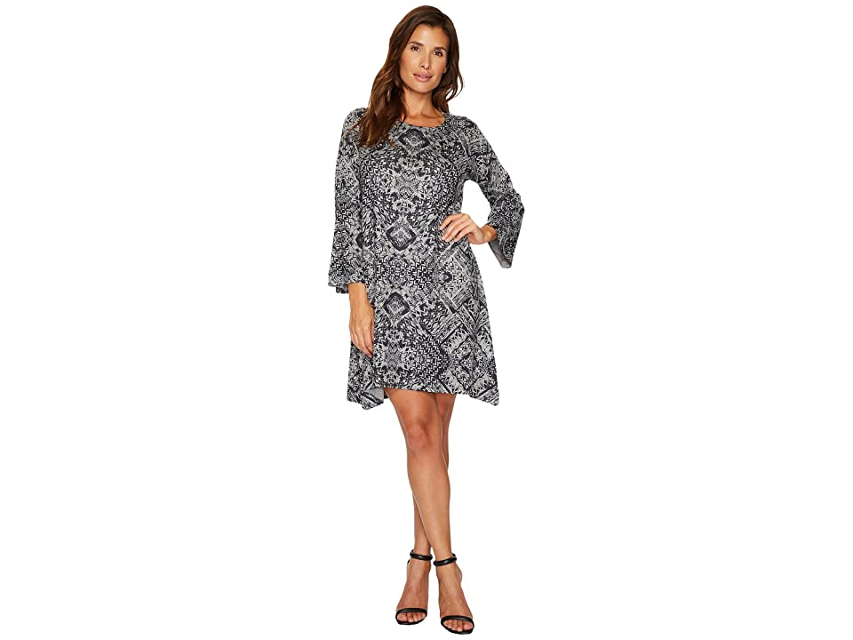 Nally & Millie Ikat Print Dress (Multi) Women
