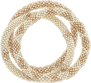 Aid Through Trade Roll-On Bracelets - Rosé All Day