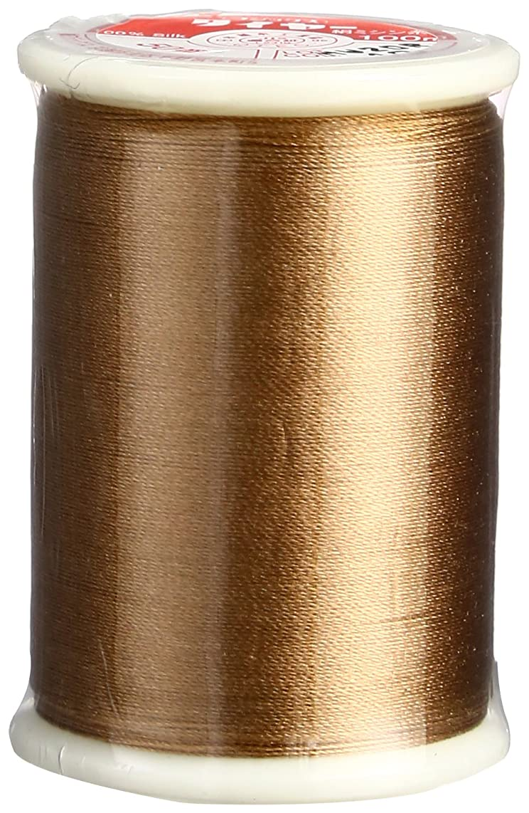 Superior Threads 13601-019 50 WT Tire Filament Silk Thread, Brown, 109 yd