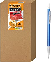 BIC Xtra Sparkle Mechanical Pencil, Colorful Barrel, Medium Point (0.7 mm), 48-Count