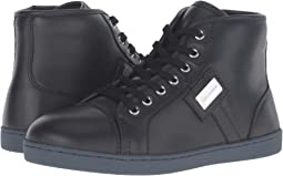 City Leather High Top Sneaker (Little Kid/Big Kid)