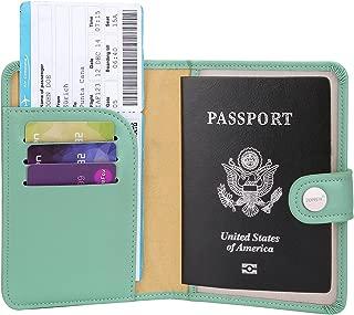 Zoppen Rfid Blocking Travel Passport Holder Cover Slim Id Card Case