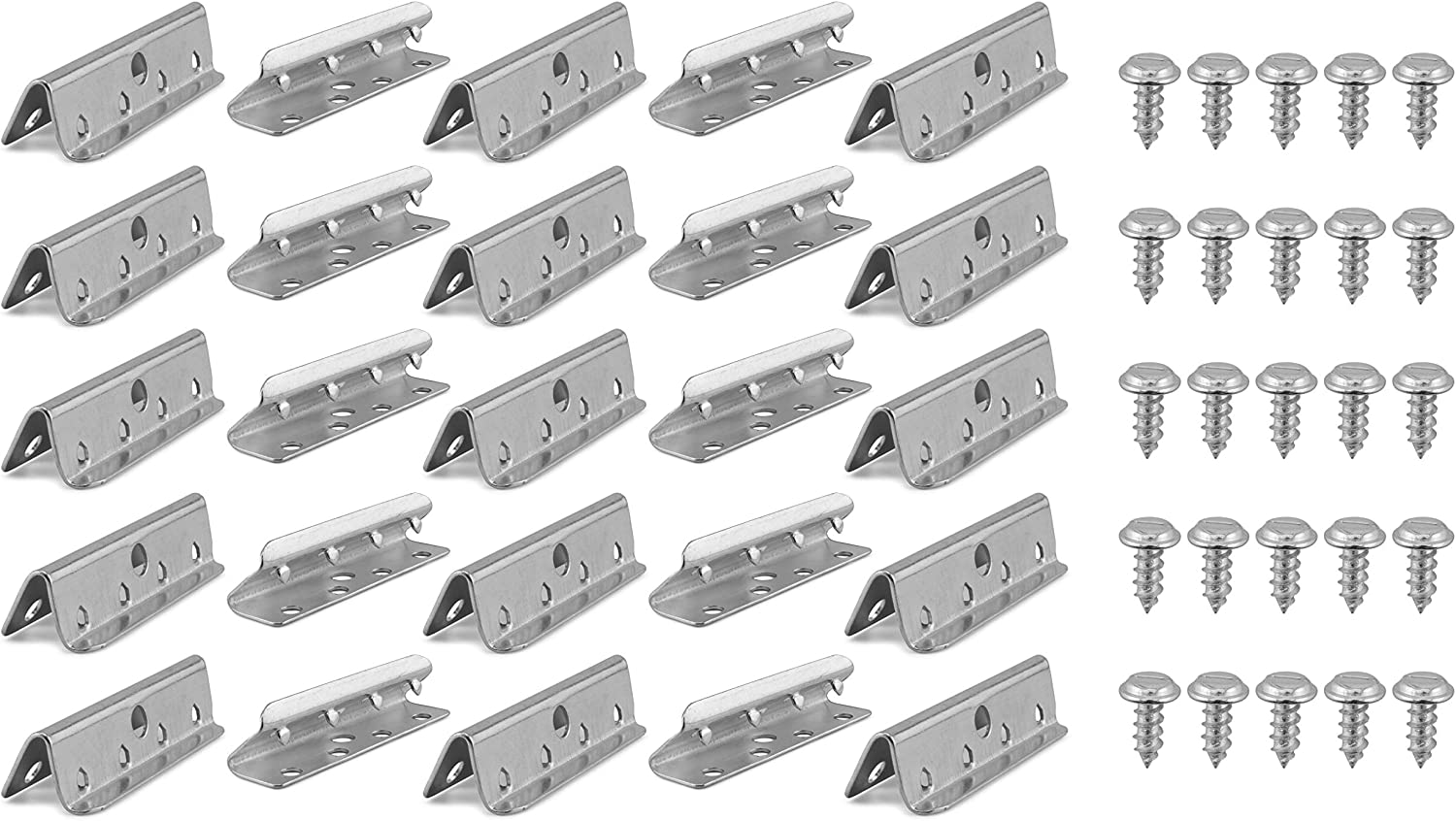 Cornucopia Metal Free shipping on posting reviews Chair Webbings Clips Replacement 25-Pack Uph ; Selling and selling