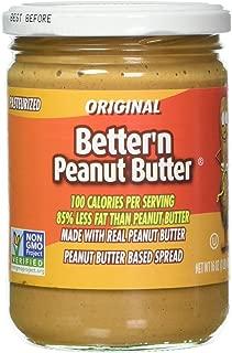 Better'n Peanut Butter Original 16 Ounce (Pack of 6)