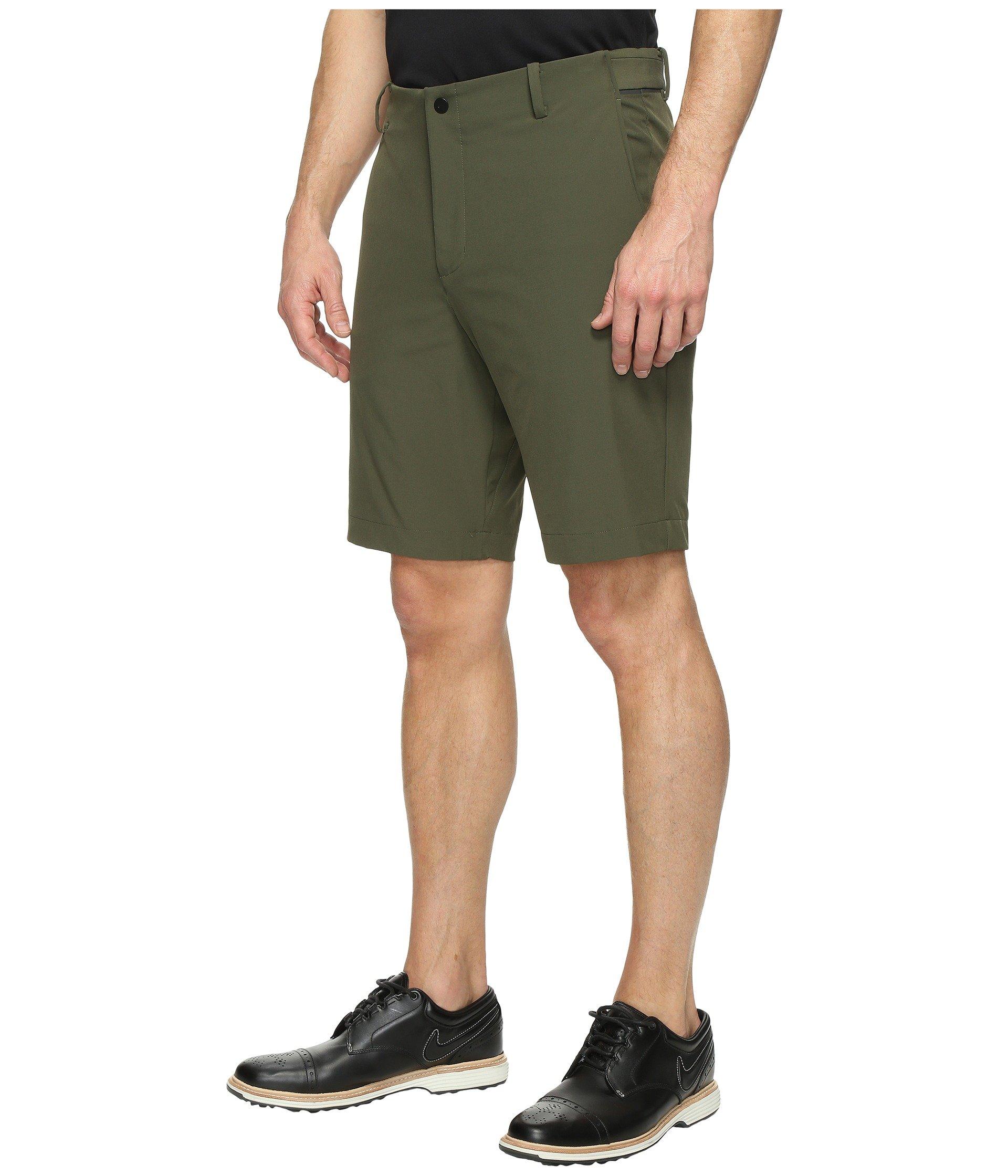 Black Golf Shoes With Khaki Shorts