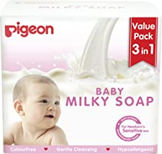 Pigeon Baby Milky Soap, 75 Gm,  (Value Pack 3 In 1)