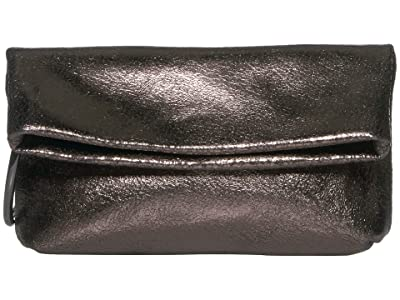 Vince Camuto Simi Clutch (Warm Anthracite) Handbags