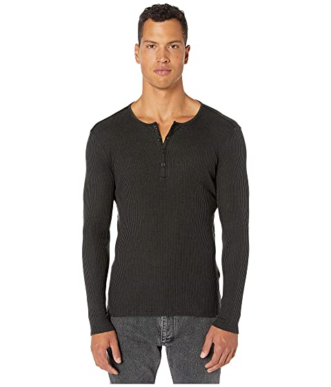 John Varvatos Collection Slim Fit Long Sleeve Henley T-Shirt K2334V3