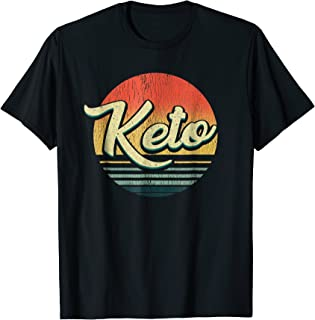 Bodybuilding Shirt - Fitness Gift Vintage Keto Logo Ketones