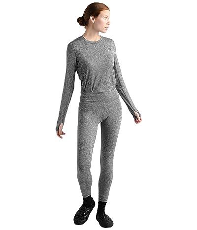 The North Face Warm Poly Tights (TNF Medium Grey Heather) Women