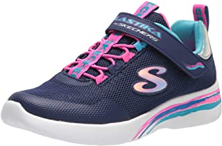 سكيتشرز رياضية للأطفال للجنسين ، خفيفة الوزن ، أحذية رياضية للبنات