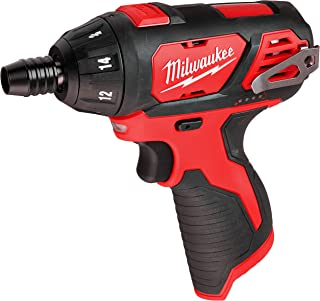 Milwaukee 2401-20 M12 12-Volt Lithium-Ion Cordless 1/4 in. Hex Screwdriver (Tool-Only)