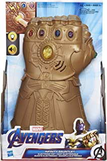 Marvel Avengers: Infinity War Infinity Gauntlet Electronic Fist Roleplay Toy, Lights and Sounds, Kids Ages 5 and Up