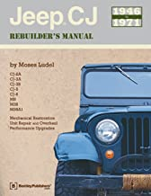 Jeep CJ Rebuilder's Manual, 1946-1971: Mechanical Restoration, Unit Repair and Overhaul, Performance Upgrades for Jeep CJ-2A, CJ-3A, CJ-3B, CJ-5 and CJ-6 and MB, M38, and M38A1