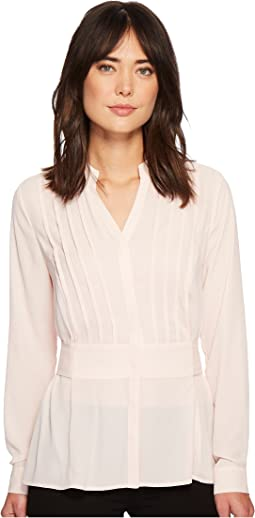 Ivanka Trump - Woven Long Sleeve Blouse