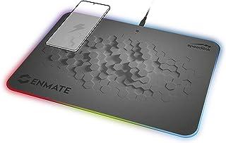 Speedlink ENMATE RGB oplaadmuismat - gamingmuismat met inductielaadfunctie - grijs