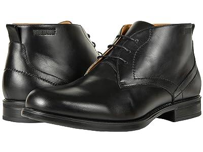 Florsheim Midtown Waterproof Chukka Boot (Black Smooth) Men