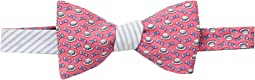Kentucky Derby Boaters Panel Bow Tie