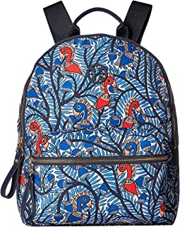 Tilda Printed Zip Backpack