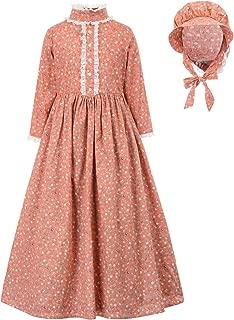 Colonial Girls Dress Prairie Pioneer Costume
