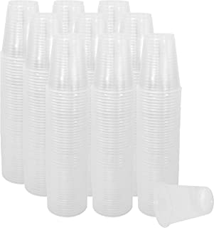 5 Oz Plastic Cups, 500 CT 5 Oz Cups Small Plastic Cups, These Small Disposable Cups Are Extra Sturdy, Small Cups For Every...