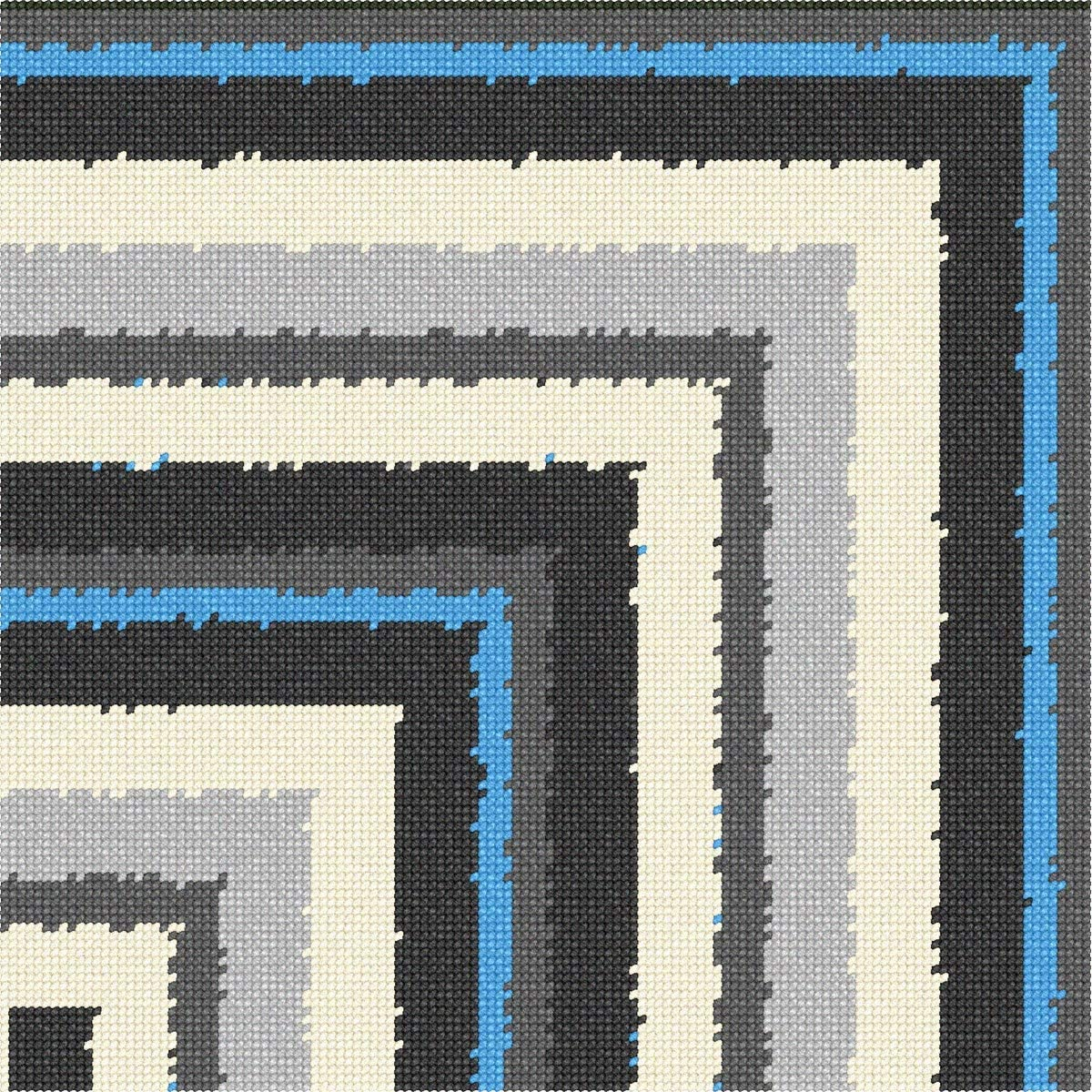 pepita Manufacturer OFFicial shop Grey Collection Stripes All stores are sold Kit 1 Needlepoint