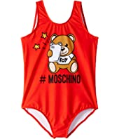 Moschino Kids - Toy Bear One-Piece Swimsuit (Little Kids/Big Kids)