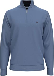 Men's 1/4 Zip Mockneck Sweatshirt