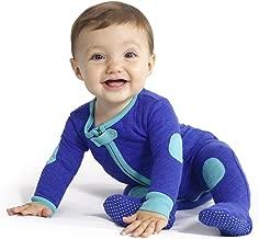baby deedee Sleepsie Cotton Quilted Footie Pajama, 18-24 months, Peacock