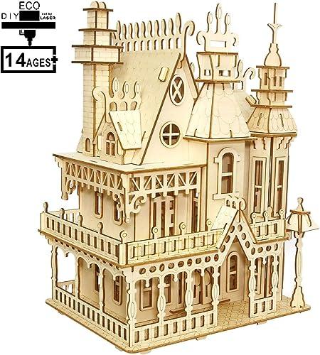 tienda de ventas outlet Kit De De De Modelos De Madera En 3D Proyectos De ConstruccióN De Bricolaje para Adultos Y Niños De 268 Piezas  Disfruta de un 50% de descuento.