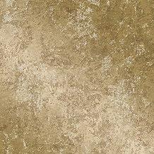 Tempaper Gold Distressed Gold Leaf   Designer Removable Peel and Stick Wallpaper