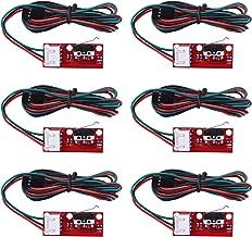 Longruner 6 x Mechanical Endstop Limit Switch with 22AWG Cable for 3D Printer Makerbot Prusa Mendel RepRap CNC Arduino Mega 2560 RAMPS 1.4 LKB01