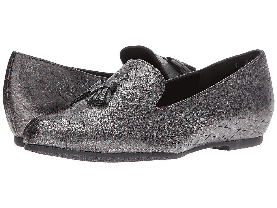 Munro Tallie (Black Graphite Leather) Women