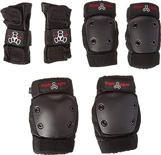 Triple 8 JR Derby (3-Pack),  Black,  Junior
