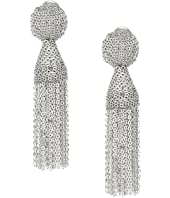 Oscar de la Renta - Class Short Chain Tassel Earrings