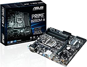 ASUS PRIME B250M-A LGA1151 DDR4 HDMI DVI VGA M.2 B250 mATX Motherboard with USB 3.1