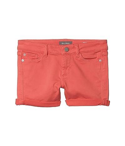 DL1961 Kids Piper Cuffed Shorts in Hyatt (Big Kids) (Hyatt) Girl