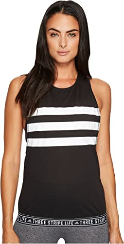 adidas - #Threestripelife Tape Performer Tank Top