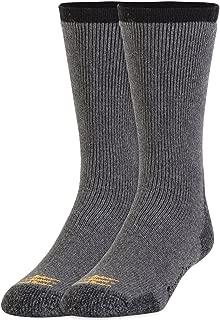 Gold Toe Men's Bootsocks Heavy Cushion Cotton Crew Socks, 2 Pairs