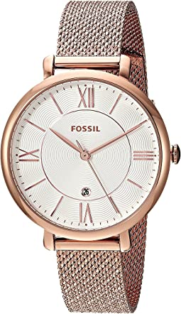 ES4352 Rose Gold Stainless Steel Mesh