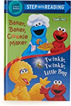 Sesame Street Cookie Monster Plush Toy with Book Bundle Baker Baker Cookie Maker