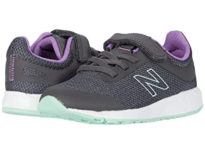 New Balance Kids 455v2 (Infant/Toddler) (Magnet/Neo Violet) Girls Shoes
