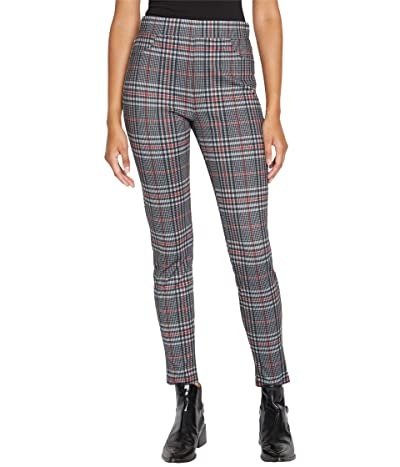 Sanctuary Runway Ponte Leggings with Functional Pockets in St. Moritz Plaid Women