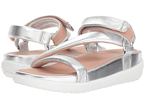 FitFlop Loosh Luxe™ Z-Strap Leather Sandals