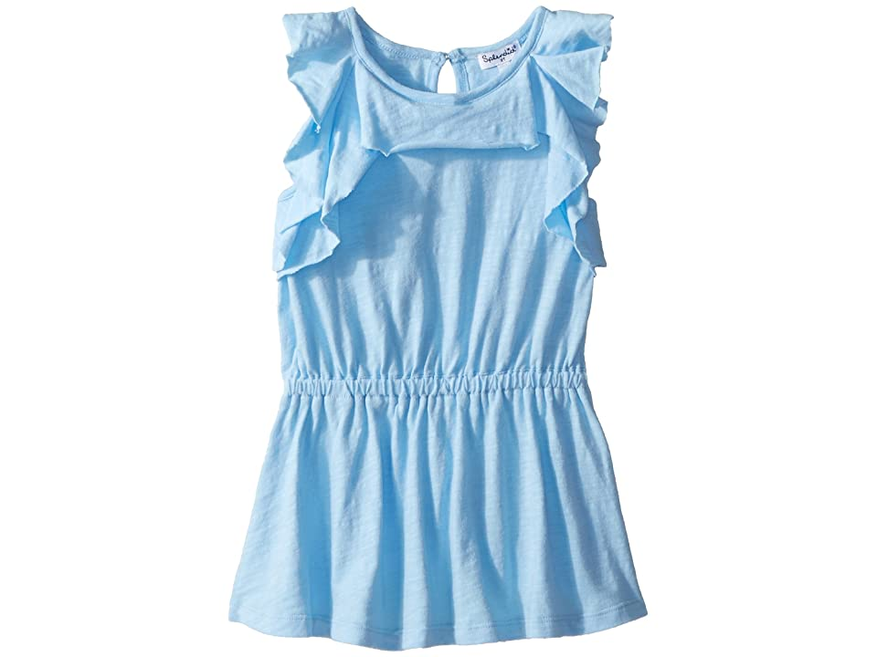 Splendid Littles Flounce Dress (Toddler) (Blue Bell) Girl