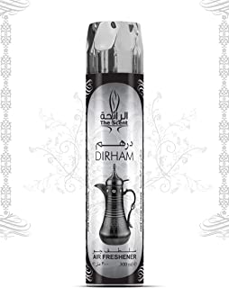The Scent Perfume Air Freshener Spray – Dirham – 300ML – Arabic Air Freshener For Home And Office – FREE From Alcohol, Ref...